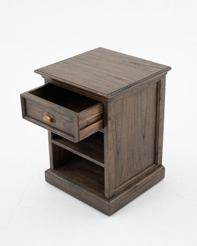 Halifax Mindi Bedside Table with Shelves_4