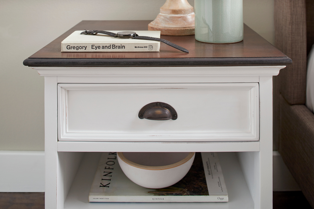 Halifax Accent Bedside Table with Shelves_10