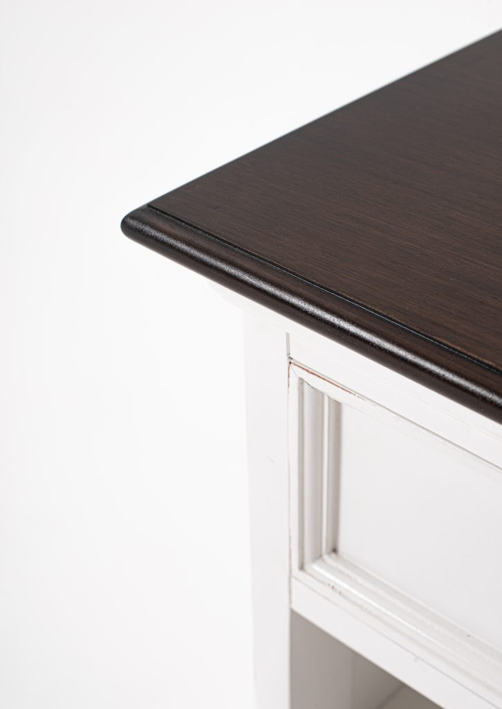 Halifax Accent Bedside Table with Shelves_7