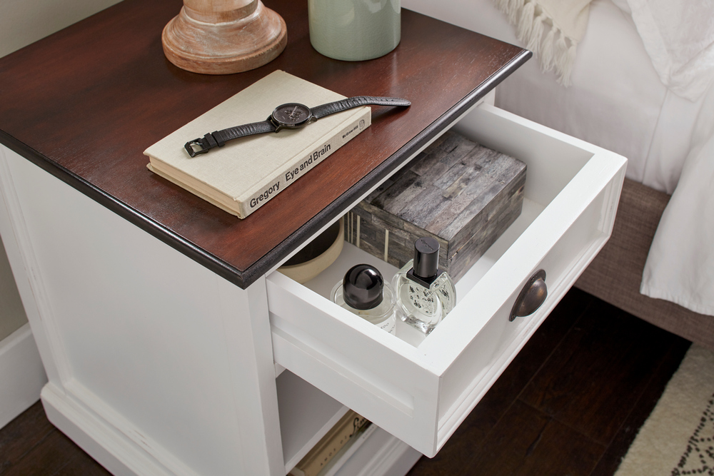 Halifax Accent Bedside Table with Shelves_11