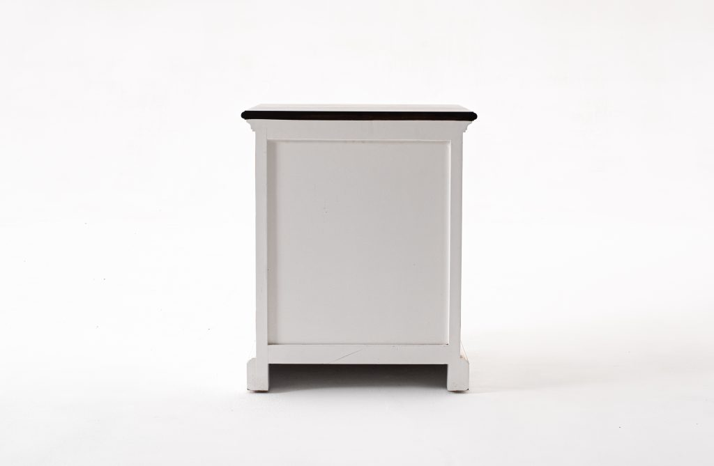 Halifax Accent Bedside Table with Shelves_5