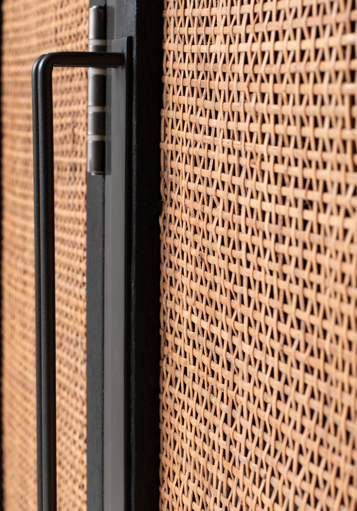 Nordic Rattan Buffet 5 Doors 3 Drawers_15
