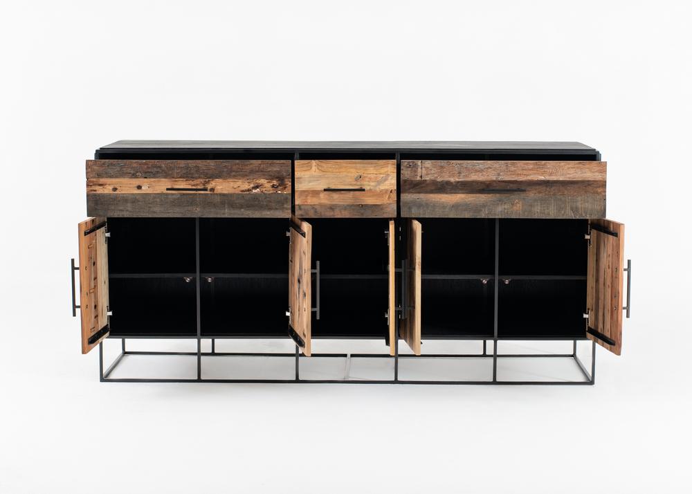 Rustika Buffet 5 Doors 3 Drawers_2