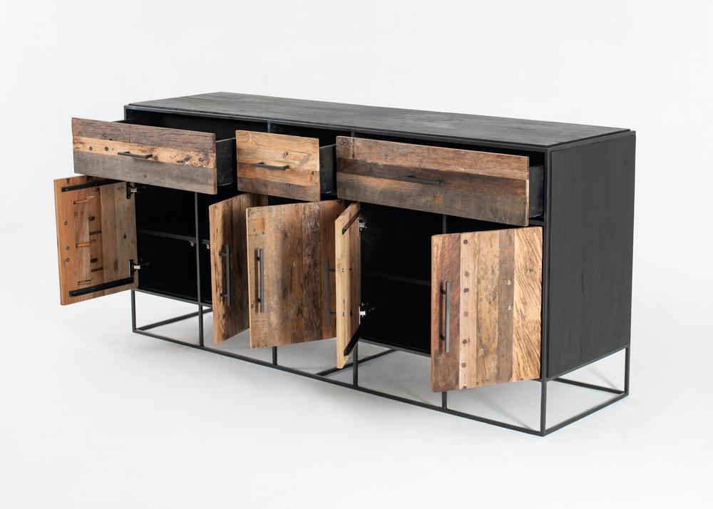 Rustika Buffet 5 Doors 3 Drawers_4