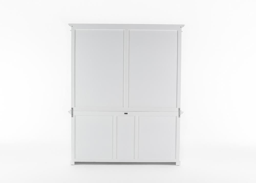 Halifax Hutch Bookcase 5 Doors 3 Drawers_7