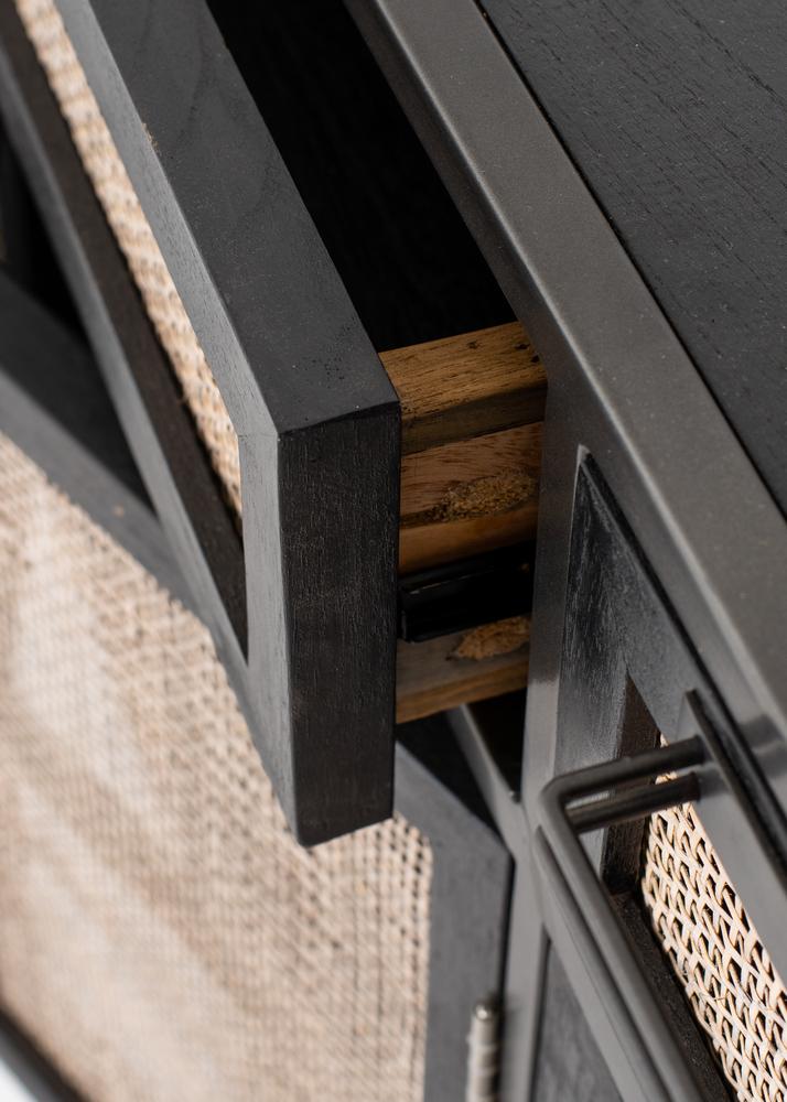 Nordic Mindi Rattan Buffet 5 Doors 3 Drawers_14