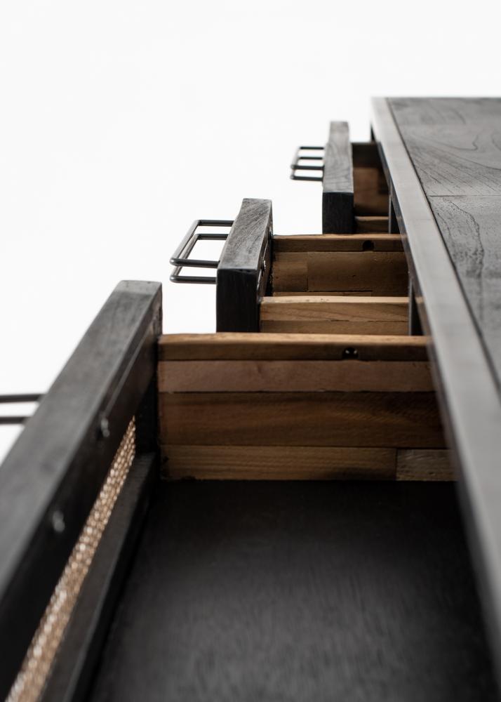 Nordic Mindi Rattan Buffet 5 Doors 3 Drawers_15